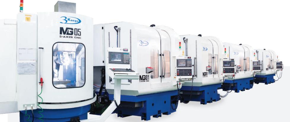 High Quality 5- Axis CNC Machine