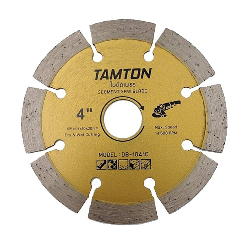 ใบตัดปูน 4 นิ้ว TAMTON -ตัดแห้ง