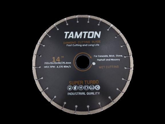 """ใบเพชรตัดถนน TAMTON 14 """" หนา 10 mm"""
